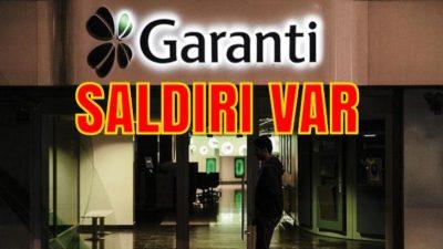 Garanti BBVA Bankasına Yurt Dışından Saldırı Var