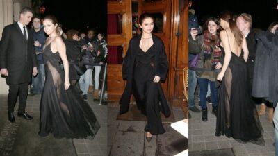 Selena Gomez Sexy Transparan Elbisesiyle Nefes Kesti