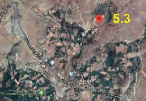 Malatya Çayköy'de 5.3 büyüklüğünde yerin 4.6 km altında deprem meydana geldi. Depremin şiddeti birçok komşu ilde hissedildi.