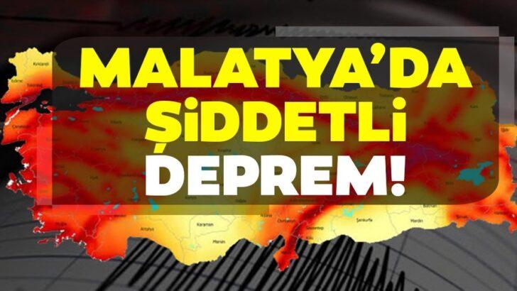 Malatyada Deprem Oldu (5 Haziran 2020)