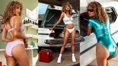 Rose Bertram Sexy Bikinili Ve Mayolu Pozları